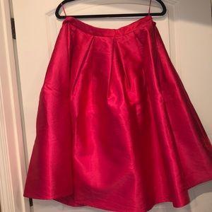 Fuschia Full Skirt